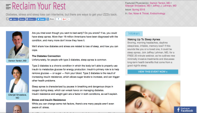 Diabetes, Weight Management & ENT_Reclaim Your Rest
