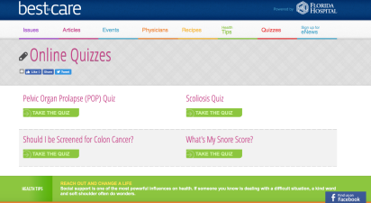 Best in Care_Online Quizzes